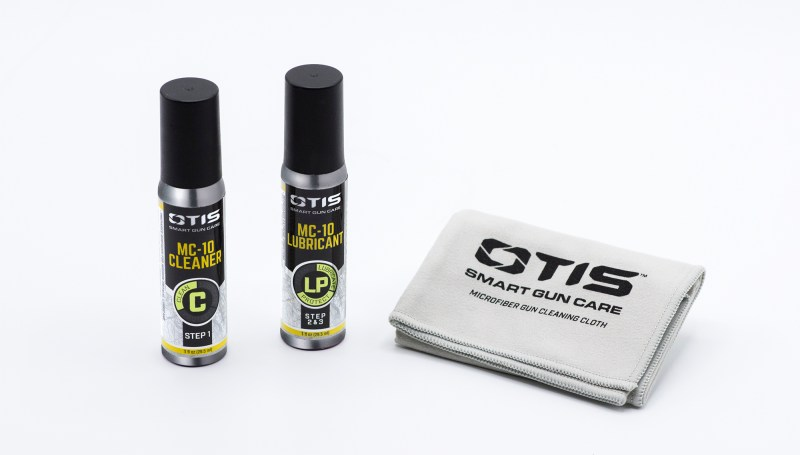 The OTIS Technology MC-10 is a two-part deal. The cleaner... cleans and the lubricant... lubricates.