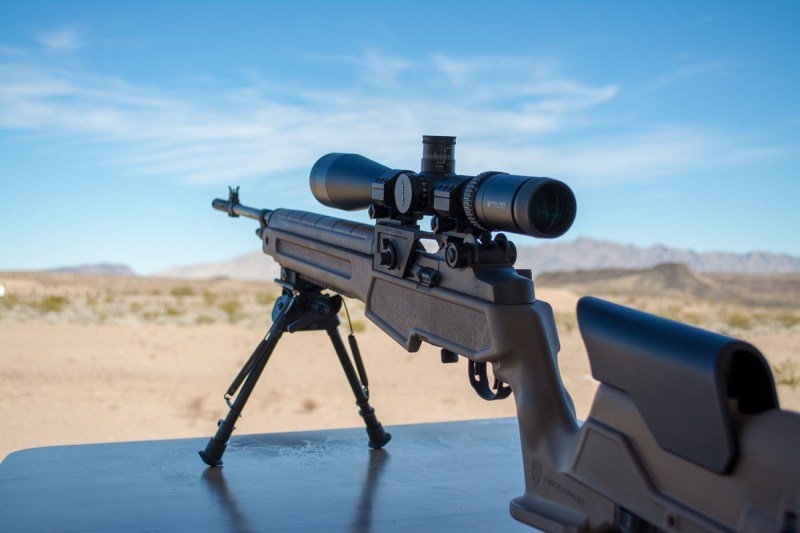 Here's a new M1A from Springfield Armory. It's chambered in 6.5mm Creedmoor.