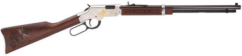 The American Rodeo Tribute Edition rifle from Henry Repeating Arms is built on their award-winning Golden Boy platform and features imagery of popular rodeo events.