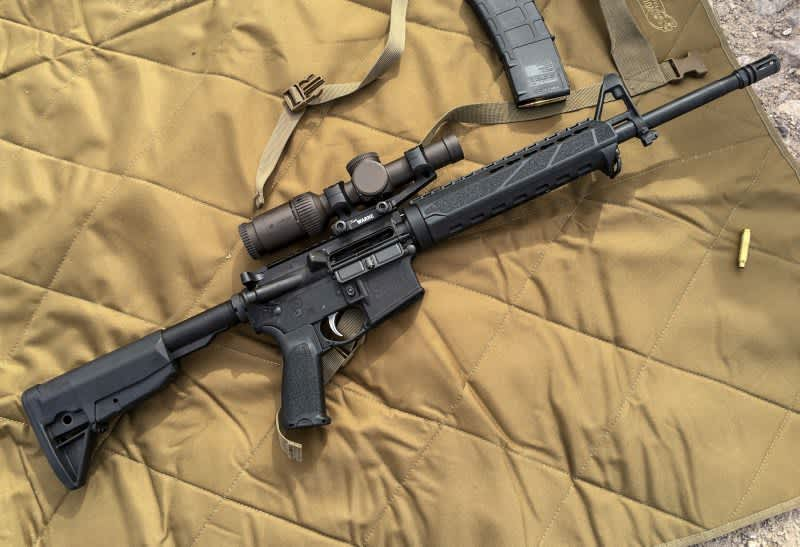 """While handy, and light as far as rifles go, this is not """"small"""" especially for indoor use."""