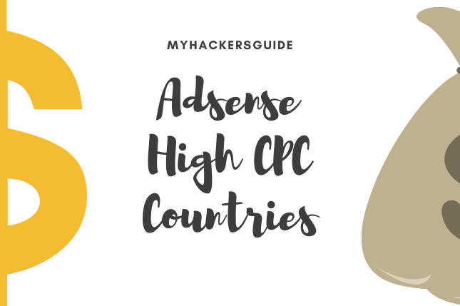 Adsense High CPC Countries
