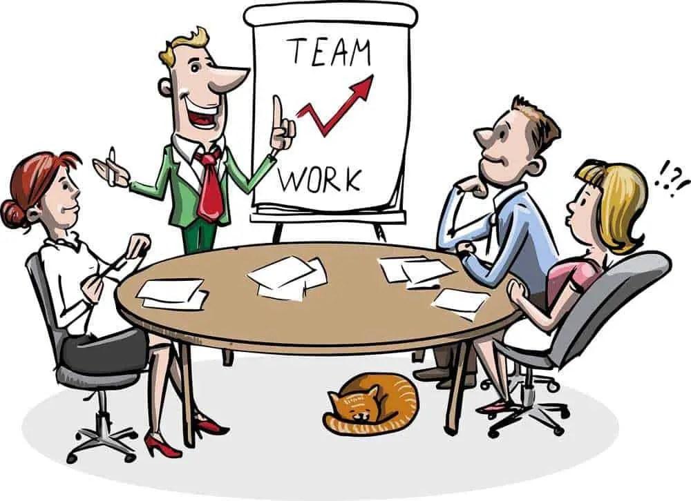 business team work