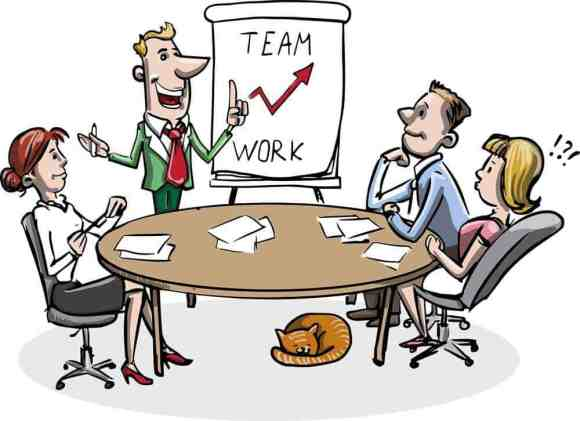 business team work