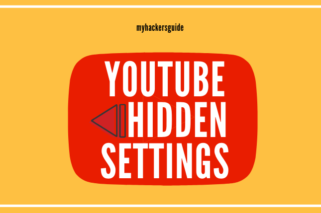 hidden youtube settings