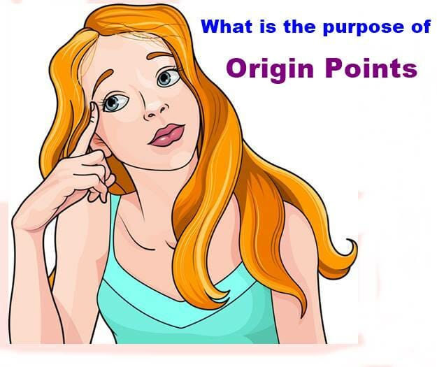 What is the purpose of Origin Points