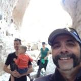 Tent Rocks selfie