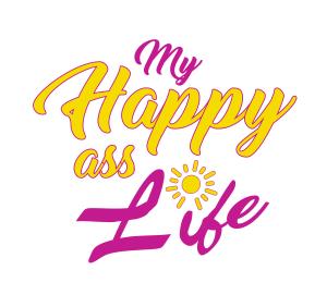 My Happy Ass Life Logo 2