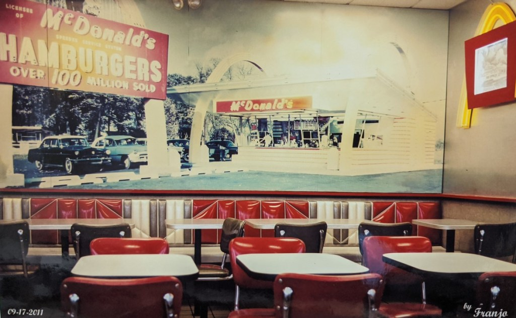 McDonald's Old Interior