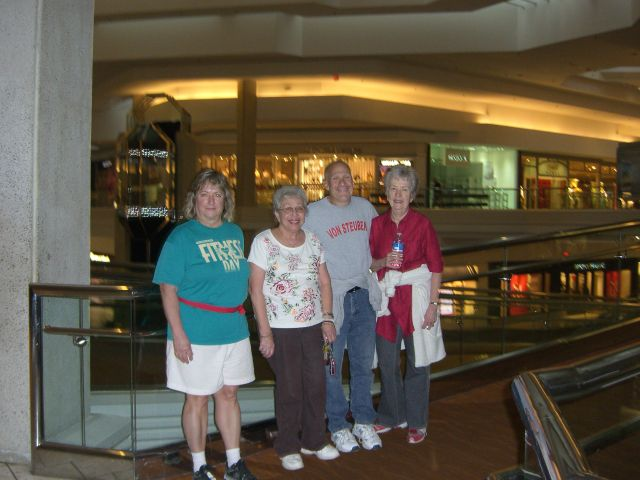 March 2012 Mall Walk and Health Seminar with Alexian Brothers