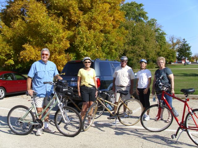 October 2011 Bike and Lunch Event