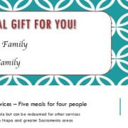 Gift Certificates for health food choices