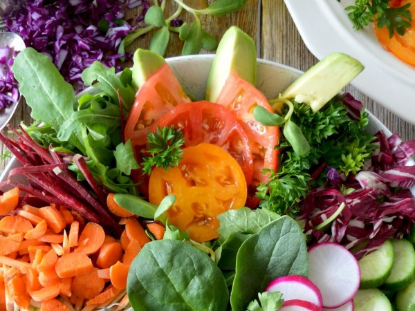 DHT blocker foods salad