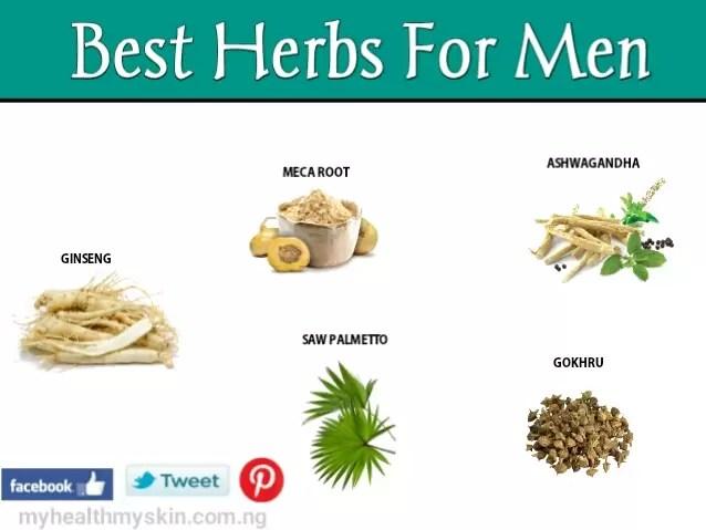 Best herbs for men health
