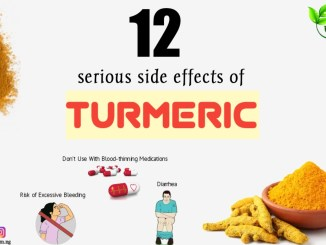 what excessive consumption of turmeric causes