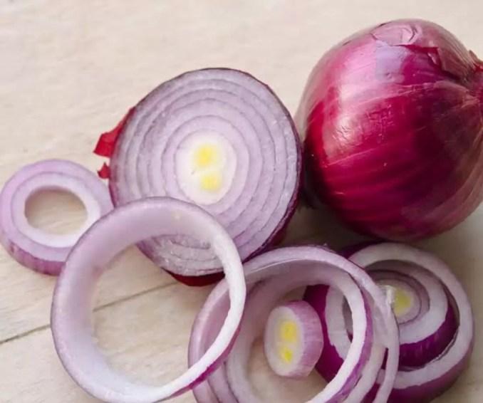Slicesd Onions