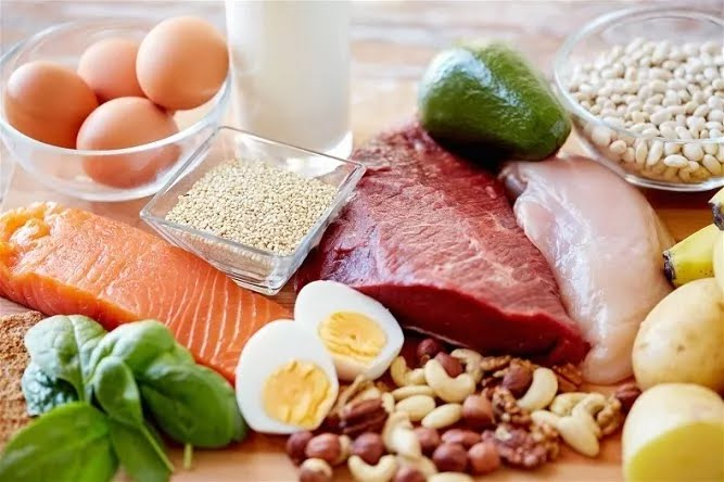 Eggs; Lean meats; Chicken; and Fishes. Collagen production