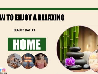 Enjoy a relaxing Beauty day at Home