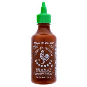 Huy Fong, Sriracha Hot Chili Sauce, 9 Ounce Bottle