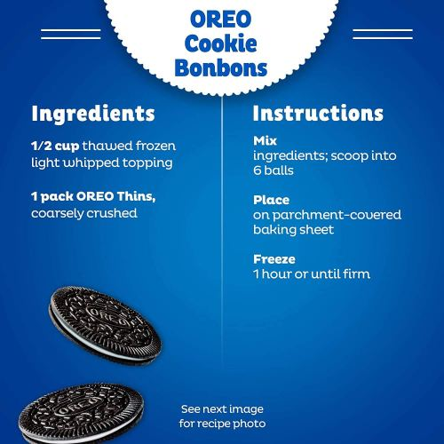 OREO Thins Mint Flavored Creme & OREO Thins Original Chocolate Sandwich Cookies Variety Pack, Family Size, 3 Packs