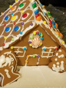 Gingerbread houses are full of sugar. Sugar is bad for us. Here's how