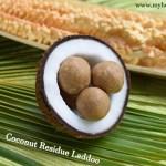 Coconut Residue Laddoo