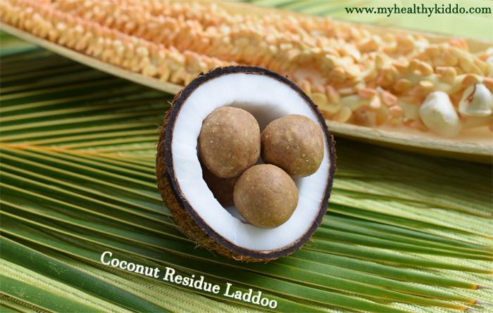 Coconut Residue Laddoo-4