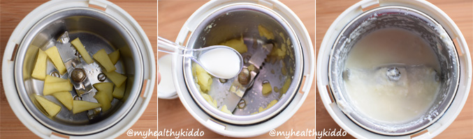How to make Apple Puree for babies-3