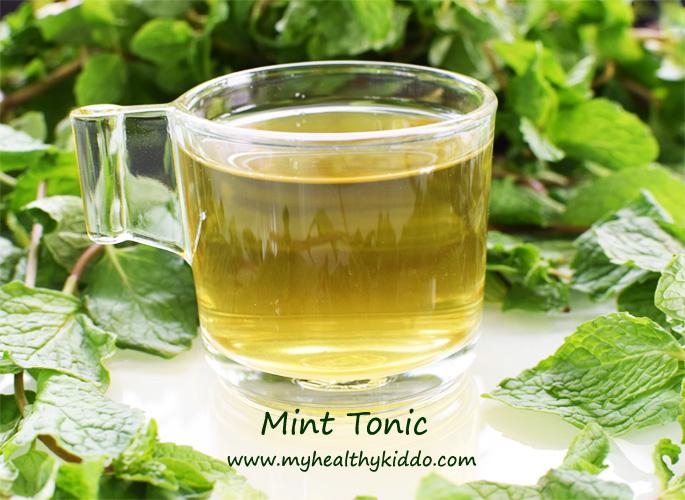 Homemade Mint Tonic 3