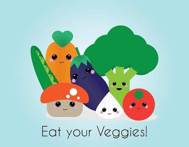 eat more vegetables, eat more fruit, eat more whole grains