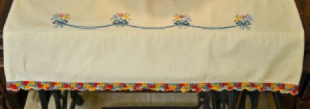 Embroidery and edging