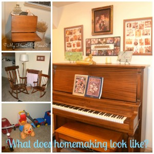 Homemaking Collage