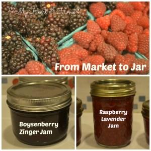 Market to Jar Collage