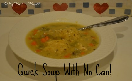 Quick Soup No Can