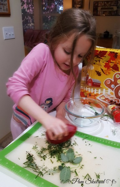 15-chopping-the-herbs-for-the-turkey