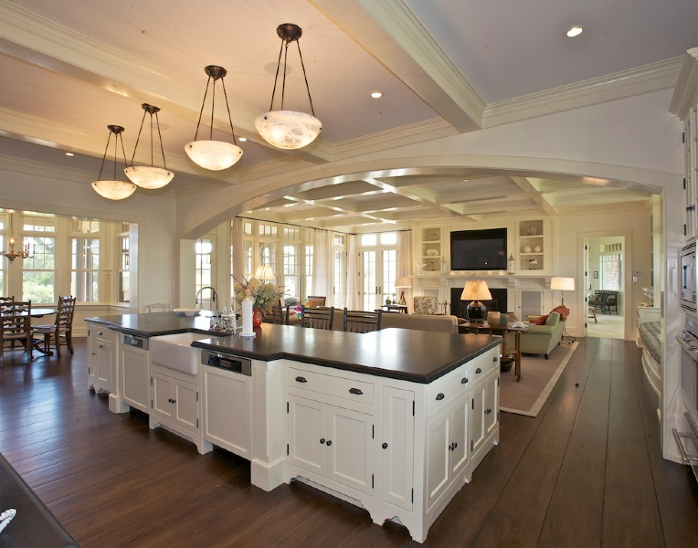 Design Ideas For Making Kitchen Living Space Combos A