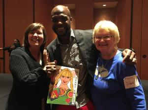 2016 Colleen, me, and IMD Roscoe Taylor (1)