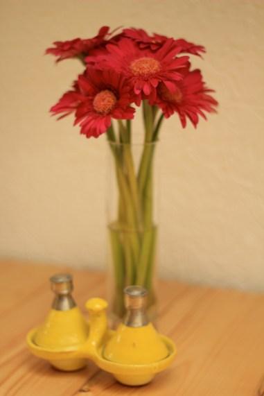 Mini tagines&flowers