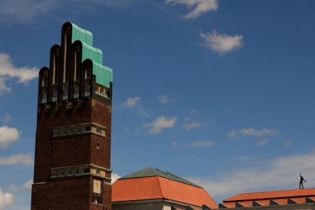 wedding tower at Mathildenhoehe