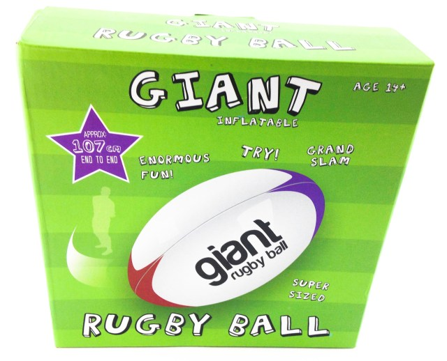 Oliphant Giant Inflatable Rugby