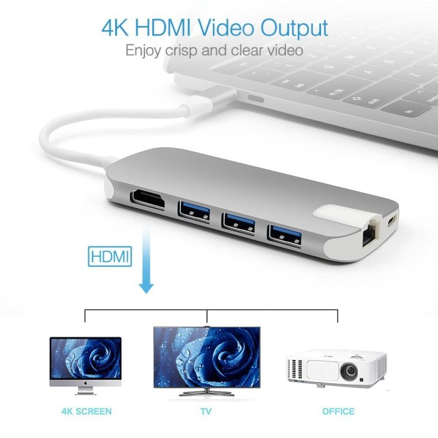 Ansbell 8 in 1 USB-C