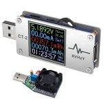 AVHzY CT-2 USB Power Meter Load Tester