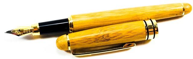 ZenZoi Bamboo Fountain Pen