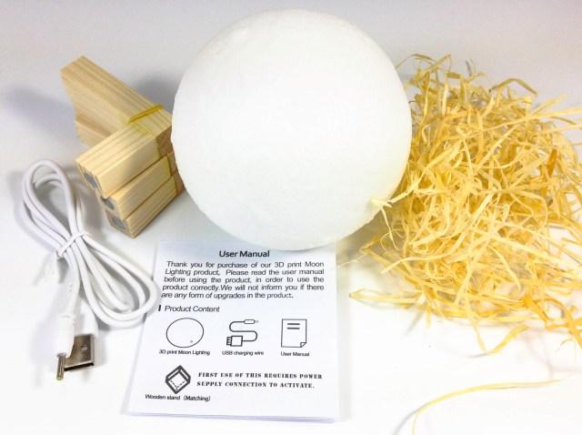 LED Moon Lamp