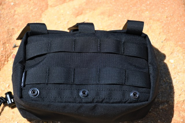 The MONZTER features two rows of webbing at the back