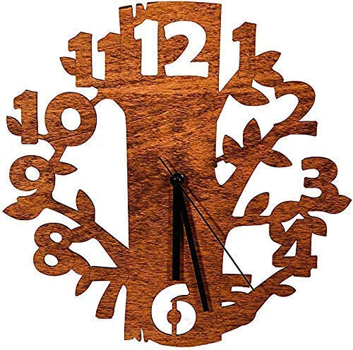 Laserò Wooden Wall Clock