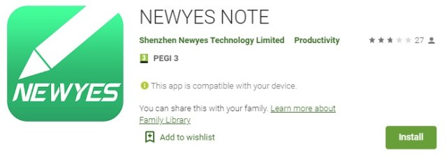 NEWYES SyncPen 2nd Generation