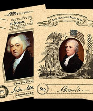The American Historical 20 Card Set
