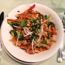 vegetarian haven - spicy bali stir-fried noodles