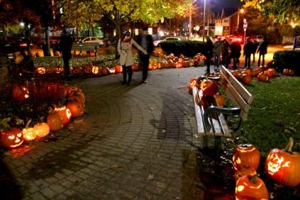 Pumpkin Parade Pathway