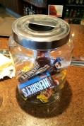 cheesewerks chocolate jar